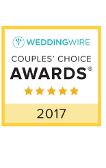 WeddingWire Couples' Choice Awards Winner 2017
